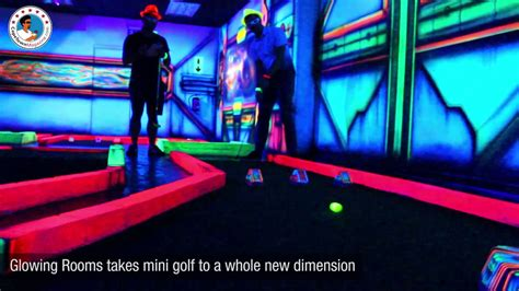 glow in the dark tattoos cape town glowing rooms 3d mini golf in cape town youtube
