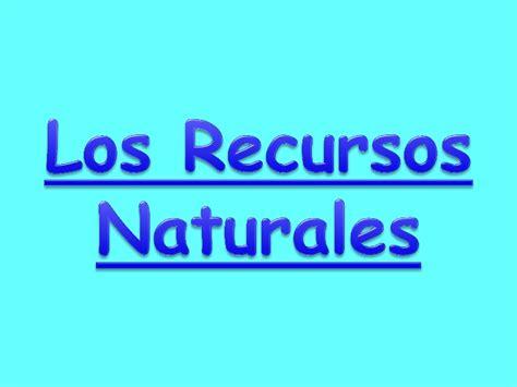 imagenes recursos naturales para imprimir 5 los recursos naturales