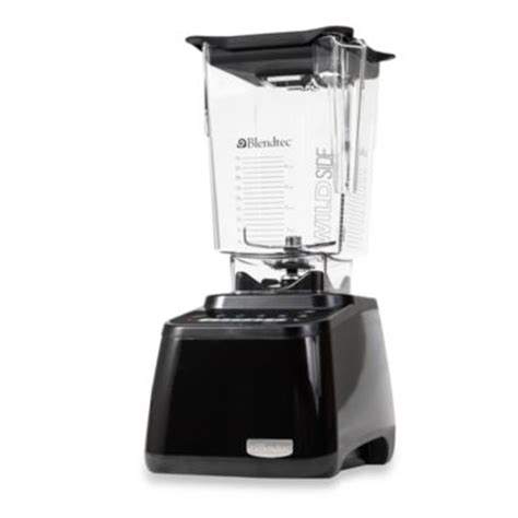 blendtec bed bath and beyond buy blendtec 174 tabletop total blender in black from bed