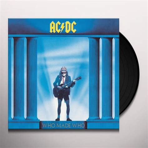 dc vinyl records ac dc who made who vinyl record
