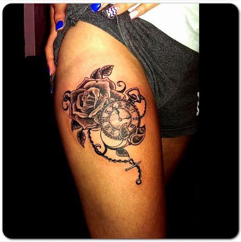 thigh tattoo process 39 best tattoo images on pinterest tattoo ideas