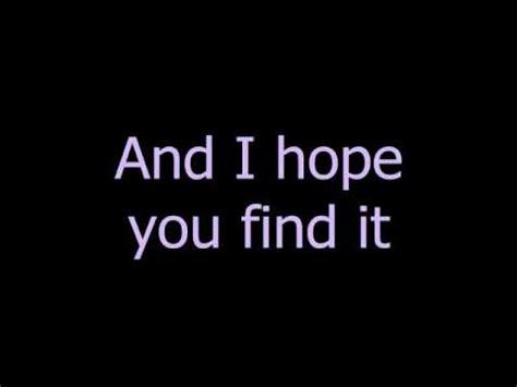 You Search Miley Cyrus I You Find It Lyrics