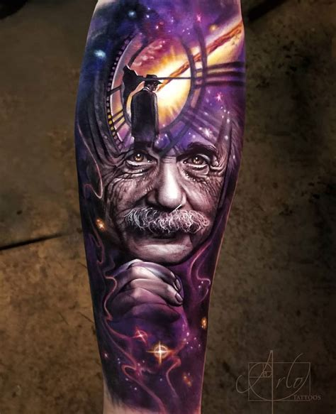 albert einstein best tattoo design ideas