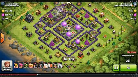 fungsi layout coc clash of clans level 9 maps car interior design