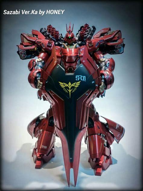 Kaos Gundam Gundam Mobile Suit 41 mg 175 neo zeon msn 04 sazabi ver ka gundam gunpla