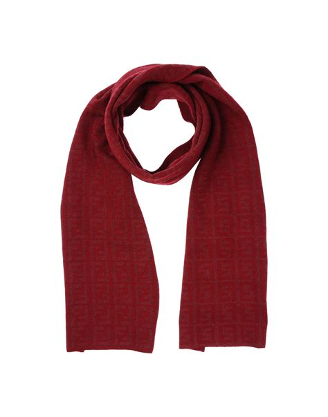 fendi oblong scarf in for lyst