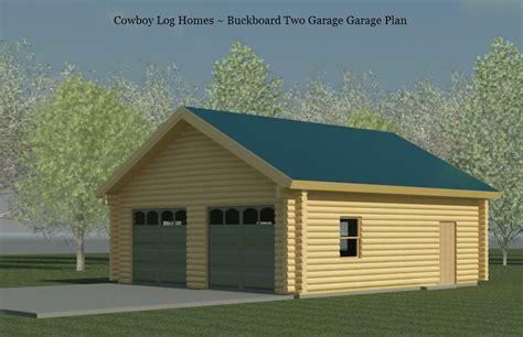 log home with 2 garages log home garage plans linwood buckboard 2 car log garage plan cowboy log homes