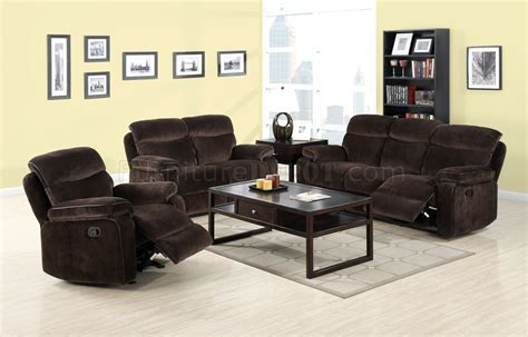 cm6821 worcester reclining sofa in brown fabric w options