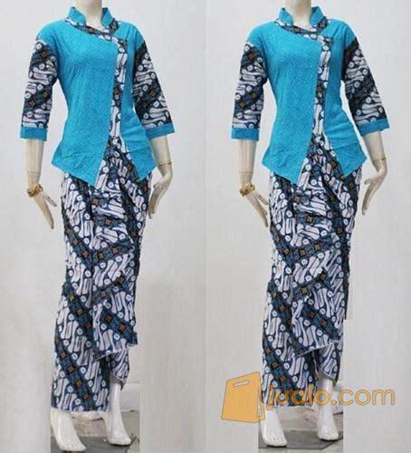 Rok Blouse Batik Setelan Pramugari setelan rok lilit n blouse pramugari batik parang lurik