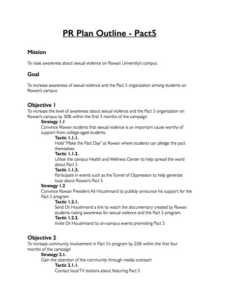 Relations Plan Template Free by Relations Template Resume Papers