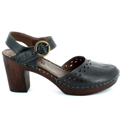 walk in the city woody 4572 34101 black heeled shoes