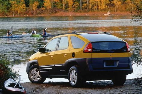 pontiac aztek yellow committees and car talk the mpi group