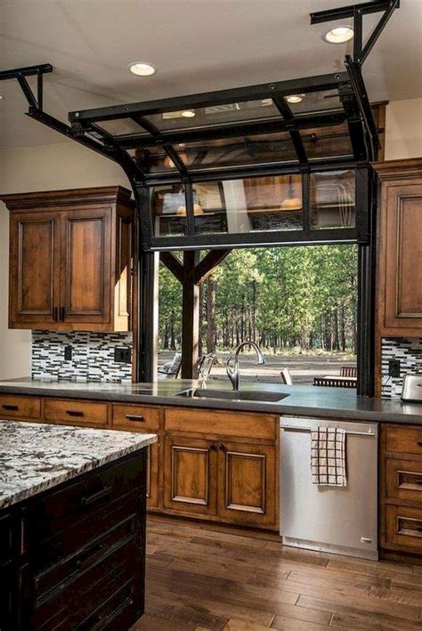 awesome kitchen designs ideas  rustic glass