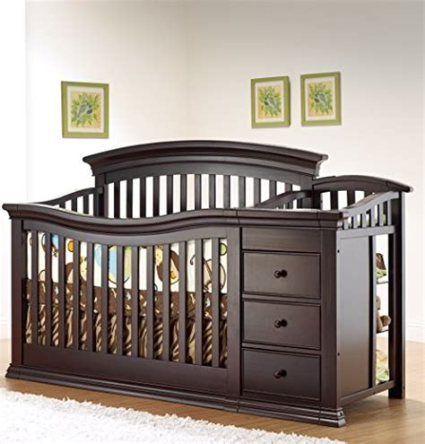 Sorelle Verona 4 In 1 Convertible Crib And Changer Reviews Sorelle Princeton 4 In 1 Convertible Crib With Changer