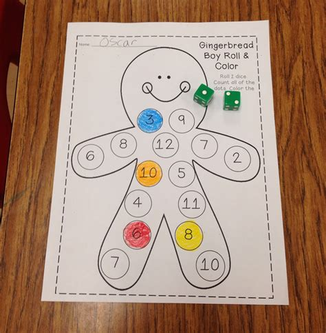 preschool gingerbread man printable book the gingerbread man and girl unit tons of math