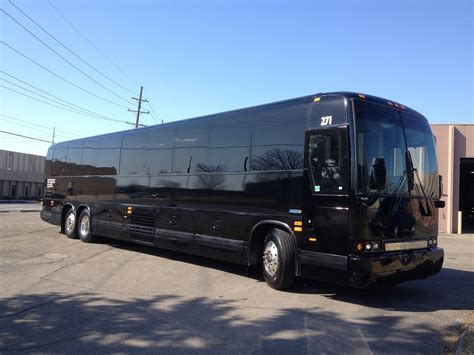 couch buses charter coach detroit bus rental metro motor coach