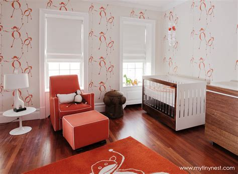 chambre enfant orange gallery roundup orange in the nursery project nursery