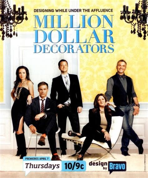 interior design tv shows million dollar decorators american reality television