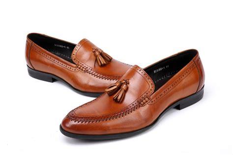guchi mens shoes fashion mens casual business shoes brown