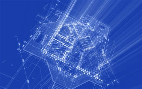 blueprint designer autocad wallpapers technical drawing wallpapers for