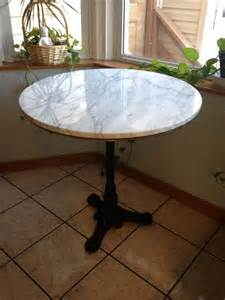 Kitchen Bistro Tables By The Kitchen Table Marble Bistro Table For