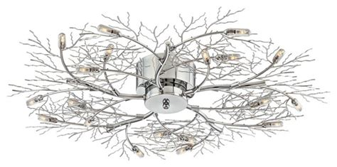 tree branch ceiling light fixture possini euro branch 30 1 2 quot wide ceiling light fixture