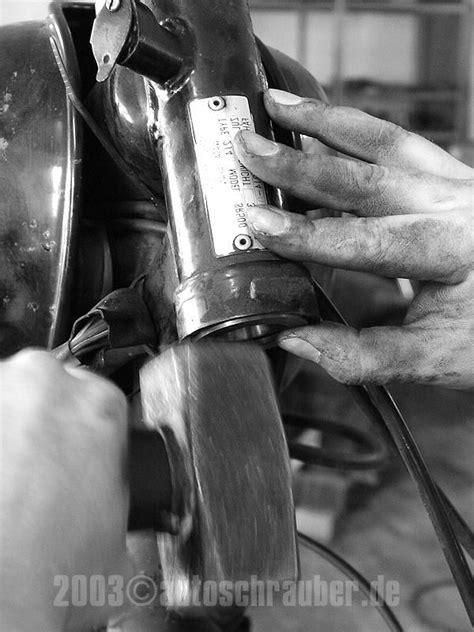len montieren autoschrauber de lenkkopflager tauschen und einstellen