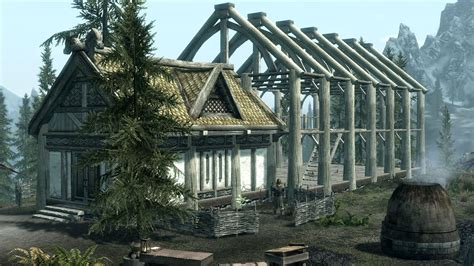 hearthfire houses psa skyrim s hearthfire expansion available now