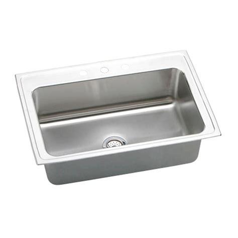elkay lkdc2085 10 3 8 single handle kitchen faucet in chrome elkay lustertone drop in stainless steel 33 in 3 hole