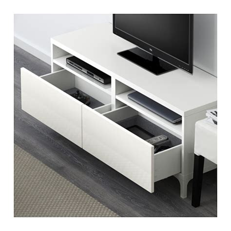 white gloss tv bench best 197 tv bench with drawers white selsviken high gloss