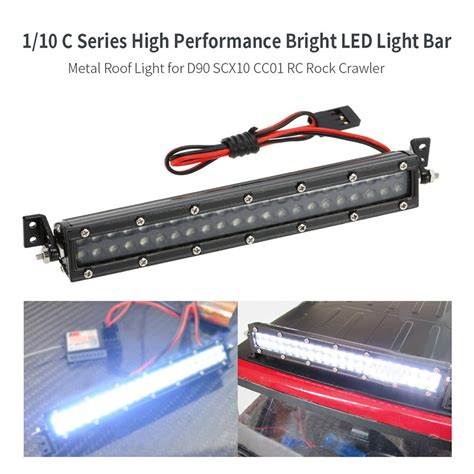 Brightest Led Light Bar Best 1 10 C Series Bright Led Light Bar Metal Roof Light L For Rc Sale Shopping