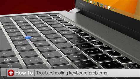 toshiba   troubleshooting keyboard issues