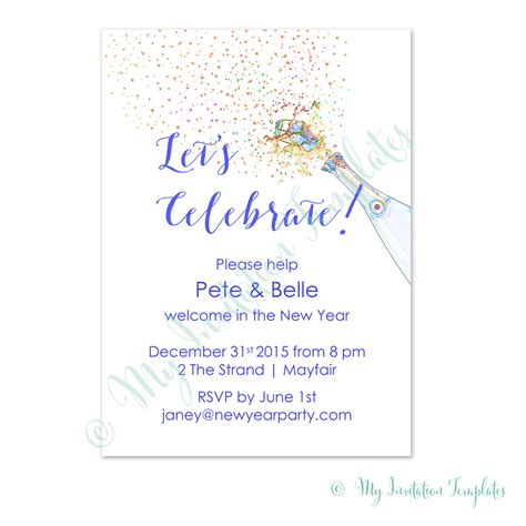 New Designs Archives My Invitation Templates For Diy Celebration Templates