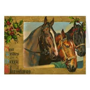 Old fashioned country merry christmas card zazzle