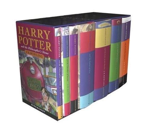 Herry Potter Complete Set Bloomsbury harry potter classic hardback boxed set x 7 j k rowling bloomsbury childrens
