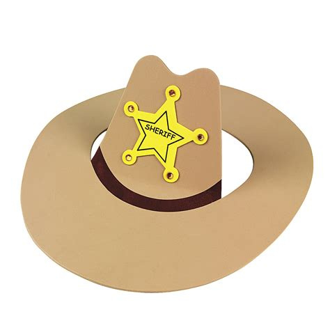 How To Make A Paper Cowboy Hat - cowboy hat craft kit trading