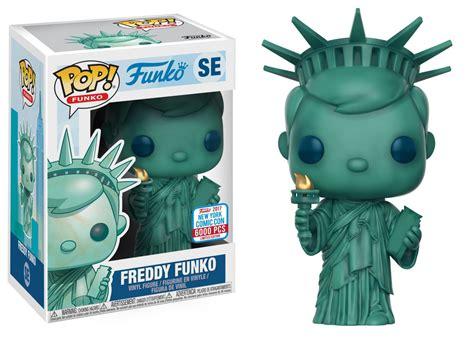 Nycc Exclusive 2017 Funko Pop New York Freddy Funko 6000 Pc Le new york comic con 2017 funko reveal part 12 fpn