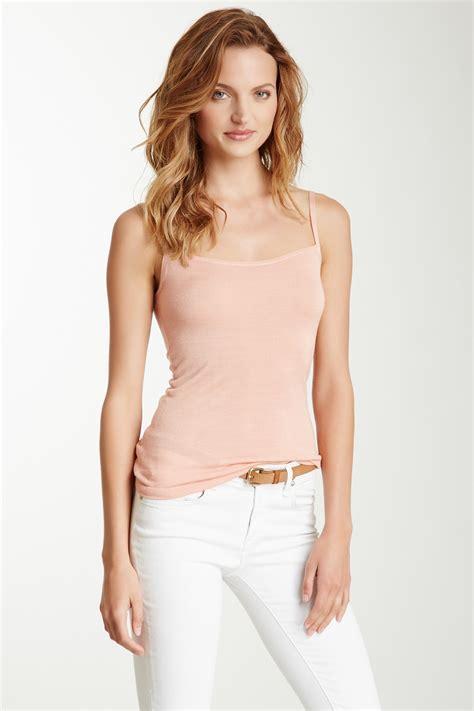 Necha Top Dustypink Ultra Soft Knit Tank Top Dusty Pink