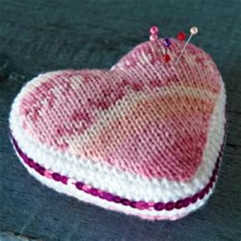 pattern for heart pincushion hearts to knit 26 free patterns grandmother s pattern book