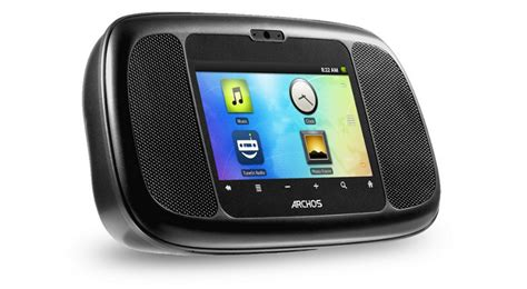 android clock radio archos home connect 35 android clock radio now in the us softpedia