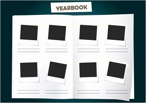 yearbook page template free 5 school yearbook templates free raiew templatesz234