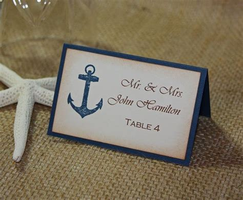 Best 25  Nautical place cards ideas on Pinterest