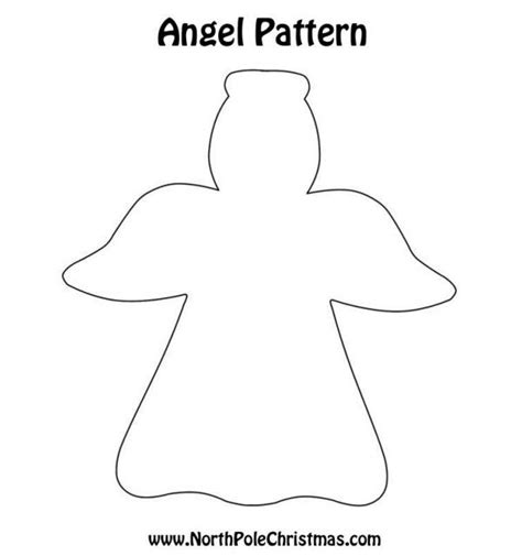 printable paper angel template free angel template angel crafts pinterest free