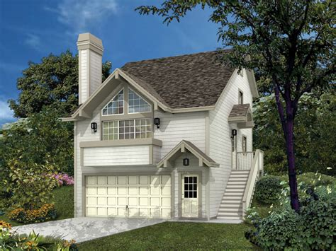 siminridge sloping lot home plan 007d 0087 house plans