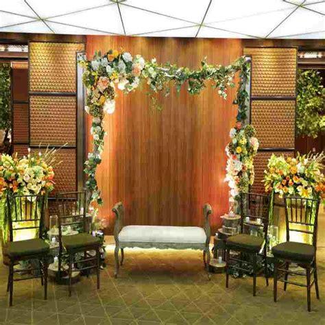 dekorasi pernikahan  rumah  sederhana minimalis