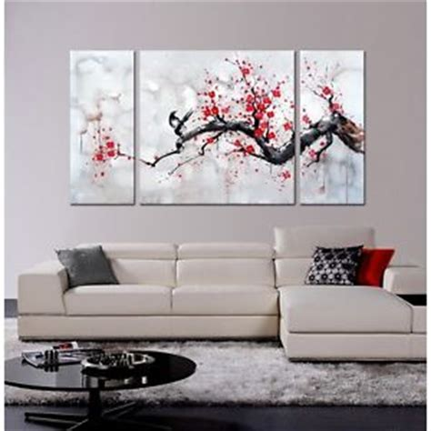 100 art home design japan shirley wall decal tree japanese inspired wall art red plum blossom hand painted