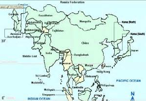 imperialism in asia blank map