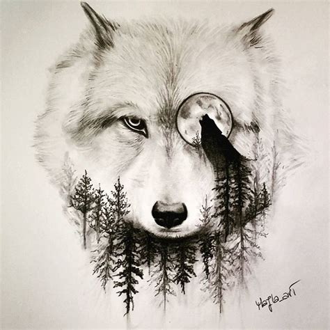 wolves drawings wolf drawing pencil on instagram
