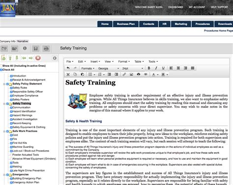 Osha Safety Manual Software Template Osha Safety Manual Template