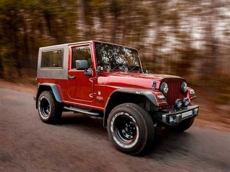 jeep modified this customised thar is a drop dead gorgeous replica of